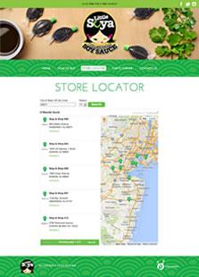 Little Soya store locator screenshot
