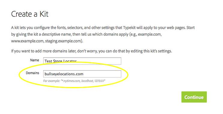 typekit add domain