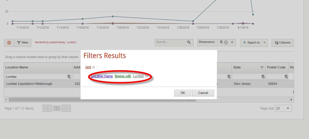 filterresults