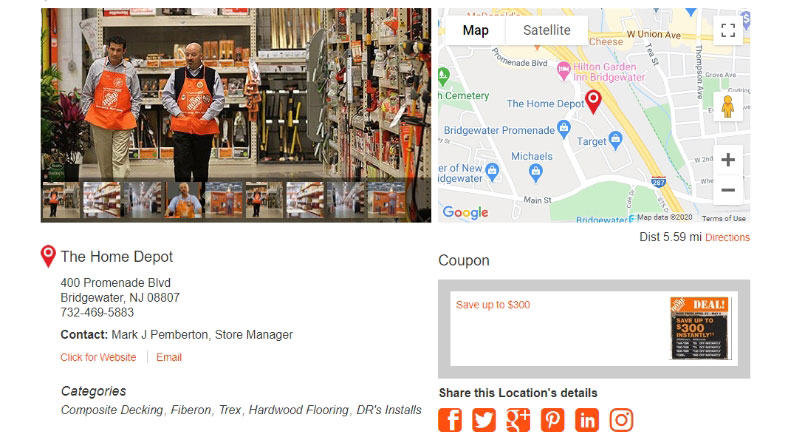 Dealer / Store Locator Best Practices #6: Add Value With Location Detail Pages